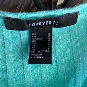 Forever 21 Tops - *Brand New* Teal Tank Top